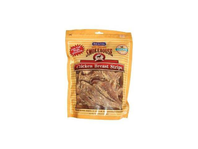 Smokehouse Pet Products Use Made Chicken Strips, 16 Ounce - 84318