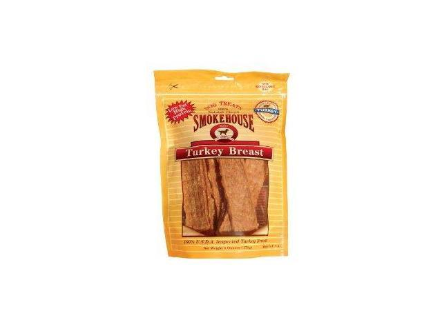Smokehouse Pet Products Use Made Turkey Breast, 6 Ounce - 84253