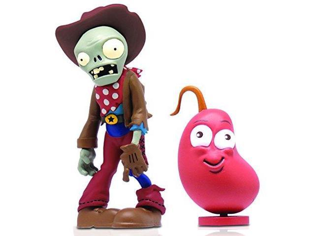 Plants vs. Zombies 2 Cowboy Zombie Figure with Weapon