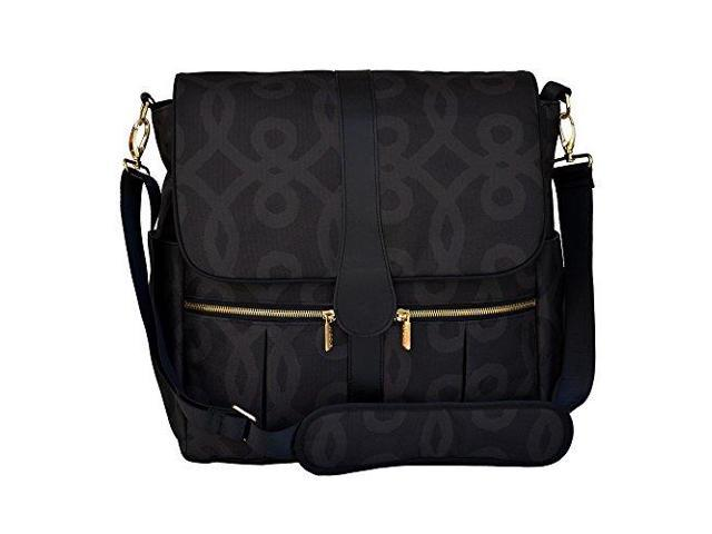 jj cole backpack diaper bag black and gold j00540. Black Bedroom Furniture Sets. Home Design Ideas