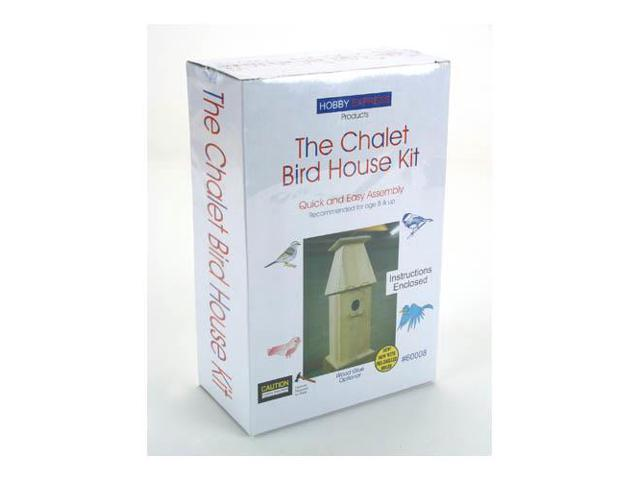 Chalet Bird House Kit HEXY0008 PINE-PRO