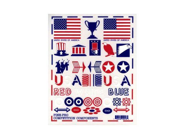 PINE-PRO 10018 Patriotic Decal Set