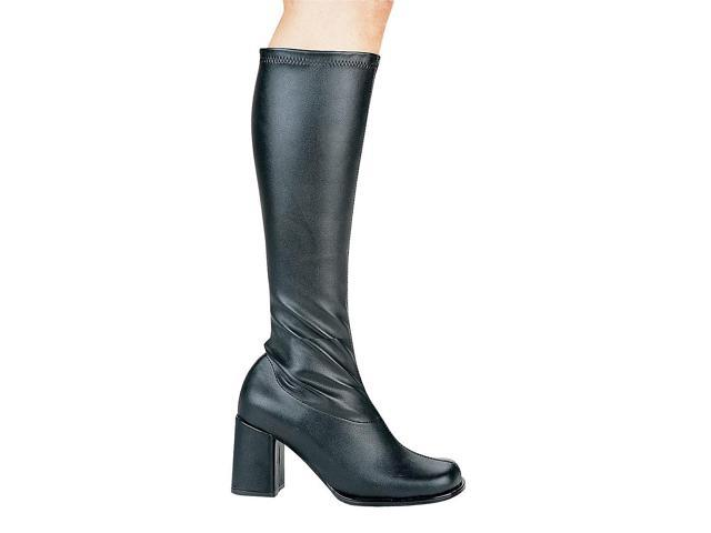 Patent Leather Black Go Go Boots