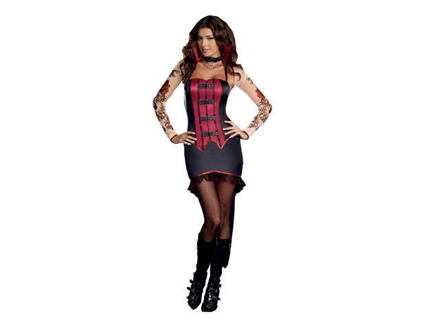 Adult La Vamp Fatale Costume Dreamgirl 8178