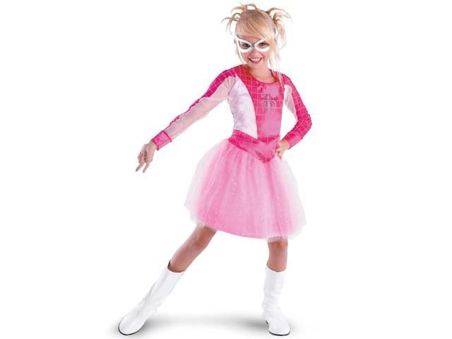 Child Pink-Suited Spider Girl Costume Disguise 50236