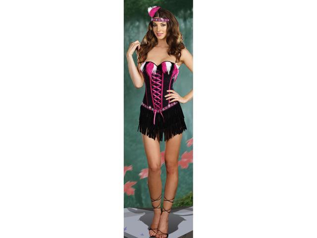 Sexy Adult Dreamgirl Burlesque with no Reservations Costume Dreamgirl 7502