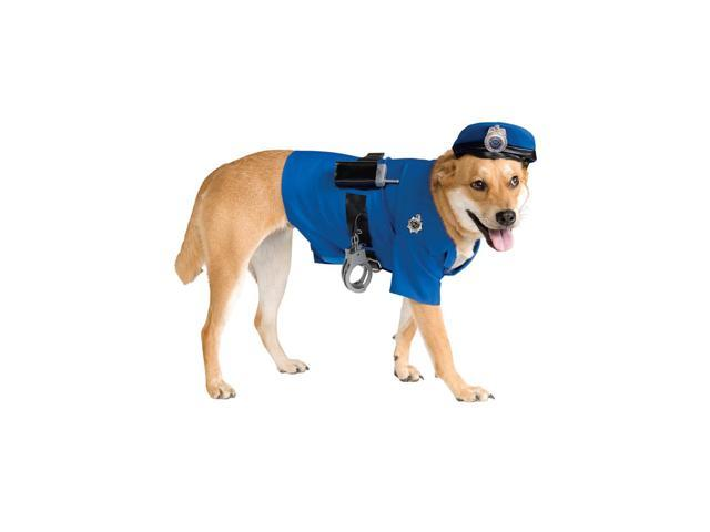 Police Dog Pet Costume Rubies 885945