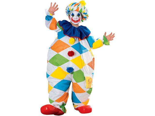 Child Inflatable Clown Costume Rubies 38904
