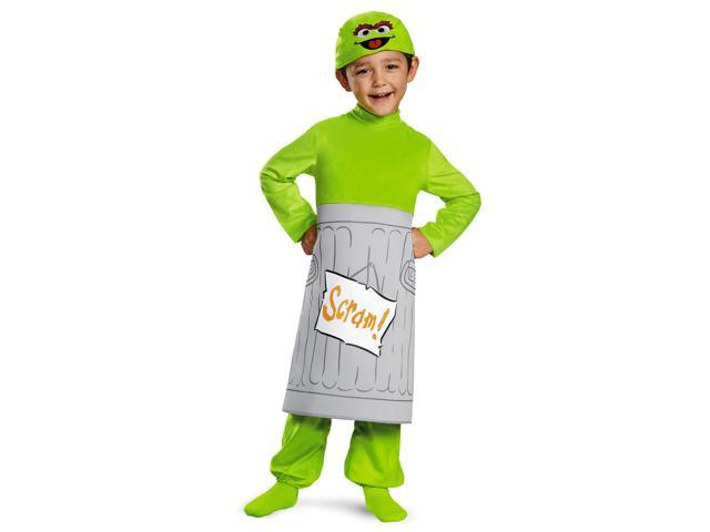 Toddler Sesame Street Oscar Costume by Disguise 86524