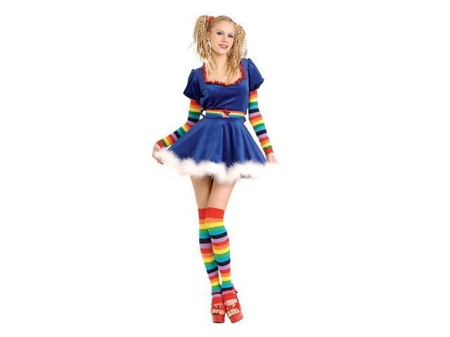 Adult Rainbow Girl Costume Rubies 888491