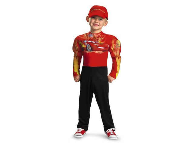 Child Cars Lightning Mcqueen Classic Muscle Costume Disguise 27237