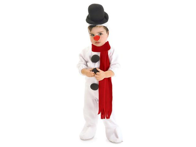 Infant Snowman Costume Rubies 11546 - Newegg.com