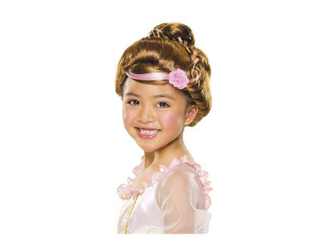 Child Brown Sophisticated Princess Wig Rubies 51425