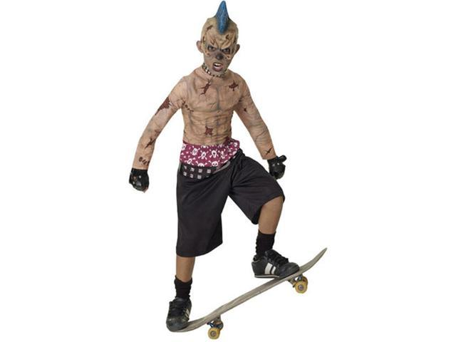 Child Zombie Skate Punk Costume Rubies 882834