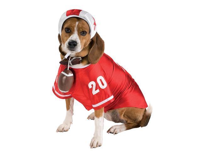 Pet Football Player Costume Rubies 885939