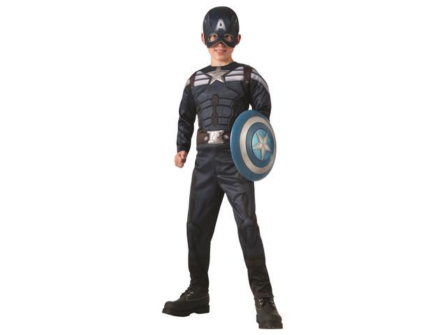 Child Captain America Reversible Costume by Rubies 885199