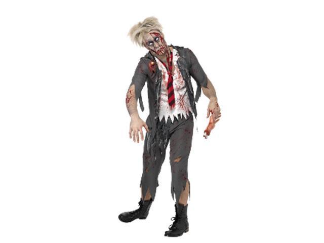 Adult High School Zombie School Boy Costume Smiffys 32928