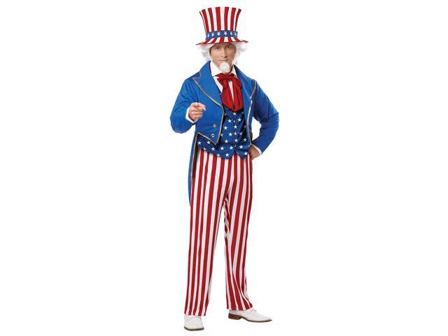 Adult Male Uncle Sam Costume by California Costumes 01309