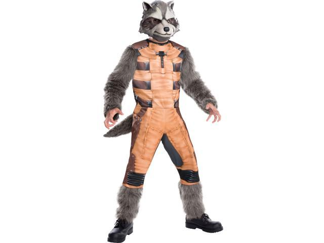 Child Rocket Raccoon Guardians of the Galaxy Costume by Rubies 620003