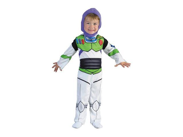 Buzz Lightyear Boy's Classic Toy Story Costume