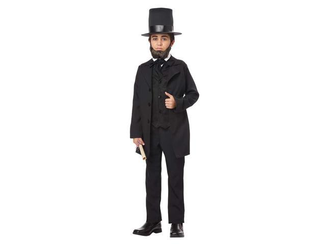 Child Abraham Lincoln Costume by California Costumes 00432