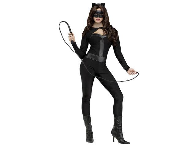 Adult Sexy Feline Fever Cat Suit by FunWorld 122694