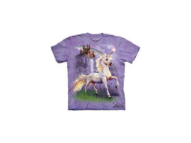 Unicorn Castle Youth T-Shirt by The Mountain - 153146
