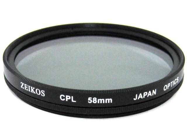 Zeikos 58MM Circular Polarizer Filter