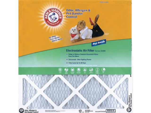 20x20x1 Arm and Hammer Air Filter (4 Pack)