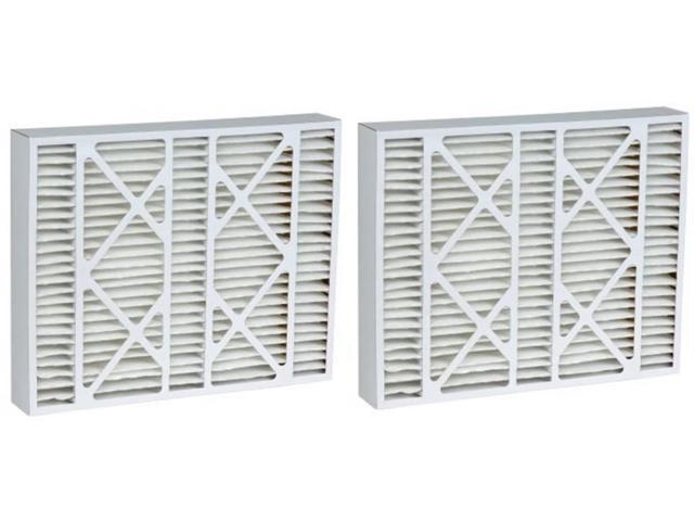 16X25X5 Carbon Odor Block Payne Replacement Filter (2 Pack)