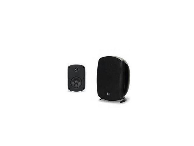 4-Inch Outdoor 2-Way Speakers (Black)