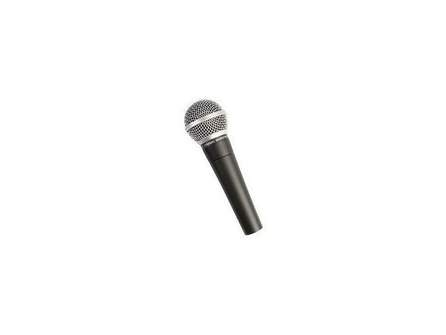DYNAMIC MICROPHONE DIE CAST    UNIDIRECTIONAL W/XLR CABLE
