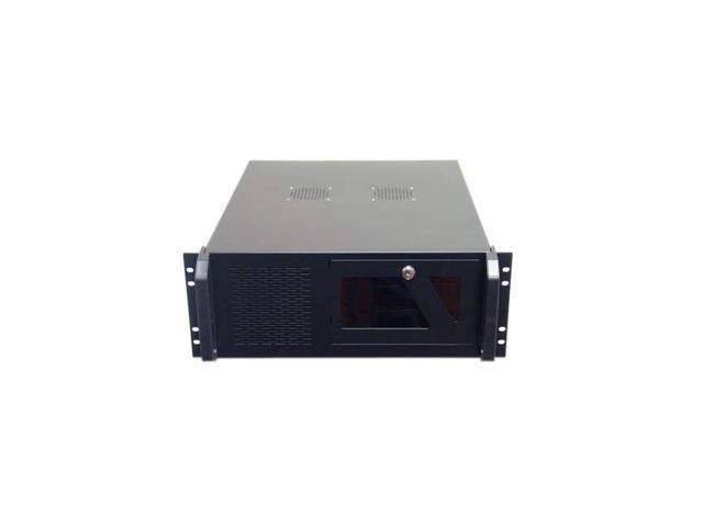 Logisys Cs4802 No Power Supply 4U Industrial Rackmount Server Chassis (Black)