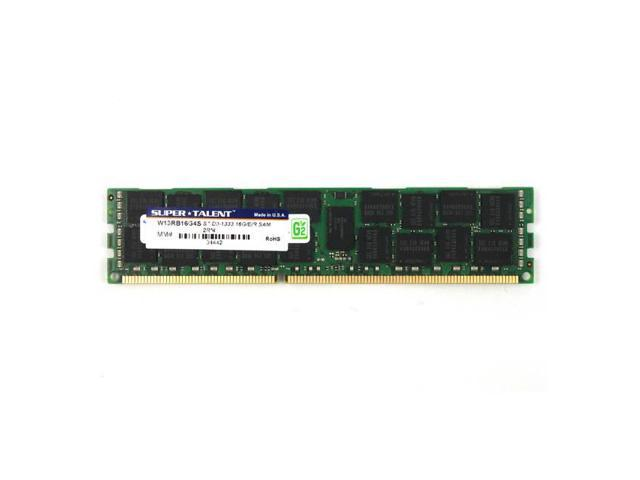 Ddr3-1333 16Gb/1Gx4 Ecc/Reg Cl9 Samsung Chip Server Memory