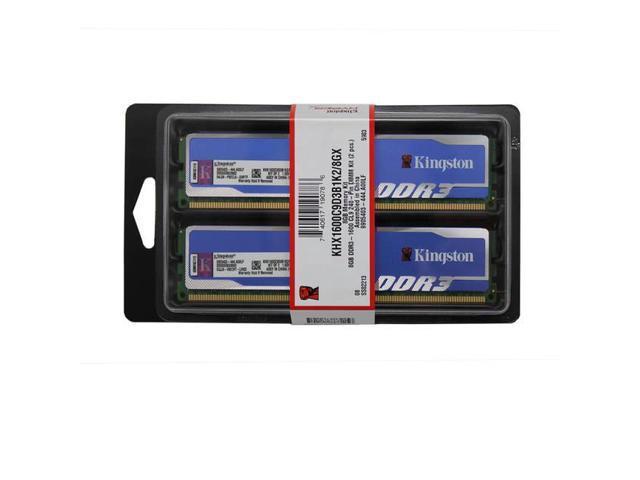 Hyperx Blu Khx1600C9D3B1K2/8Gx Ddr3-1600 8Gb(2X4Gb) Cl9 Memory Kit