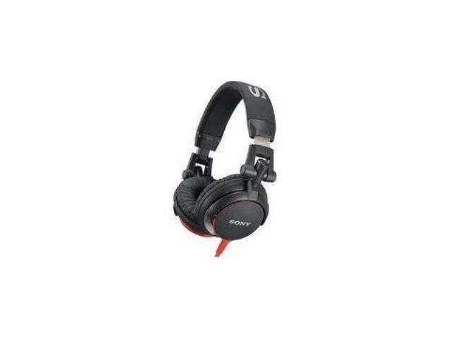 headphones over the ear-black