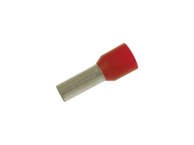 WAGO 216-209 TERMINAL, FERRULE, 12 X 4.6MM, CRIMP RED