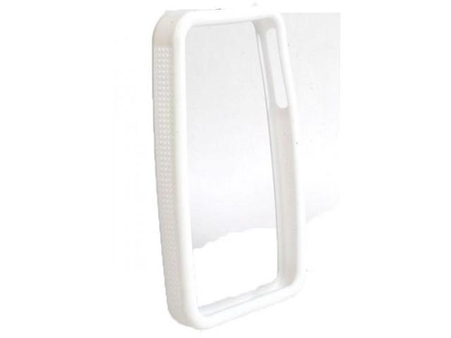 IPS225 Secure Grip Rubber Bumper Frame for iPhone 4 - White
