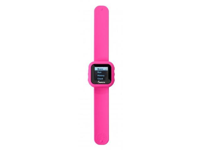 MPW1540 4GB MP3 and Video Player Slap Watch - Pink
