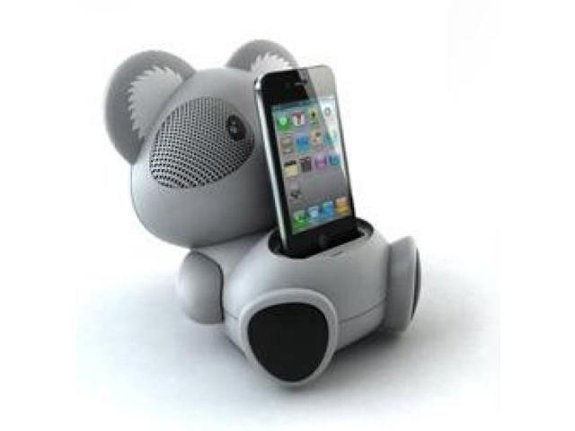 AS602 Koala Character Shaped 6 Watt iPod Docking Speaker