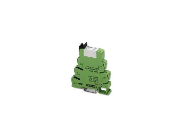 PHOENIX CONTACT 2967620 RELAY, PLC, SPDT, 24VDC, 10A, DIN RAIL