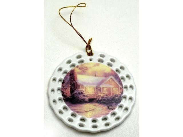 Thomas Kinkade 'Christmas Cottage' Ornament