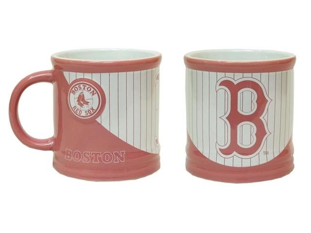 Boston Red Sox MLB Pink Mug 15oz