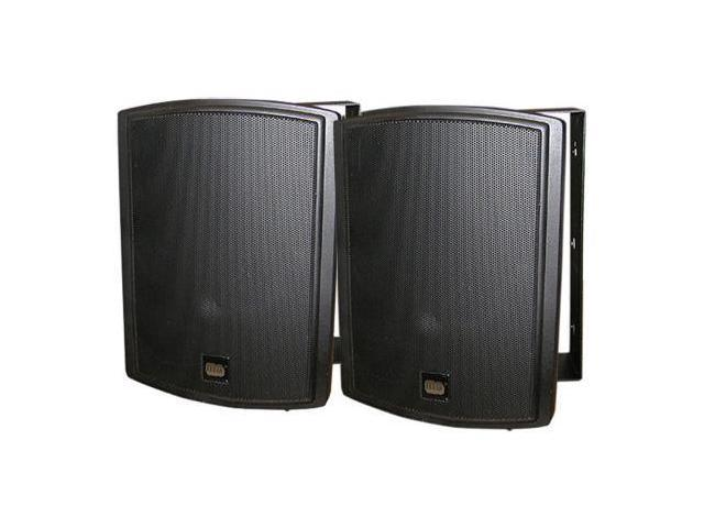 Black Weather Resistant Fore/Background 8ohm Speaker Pair