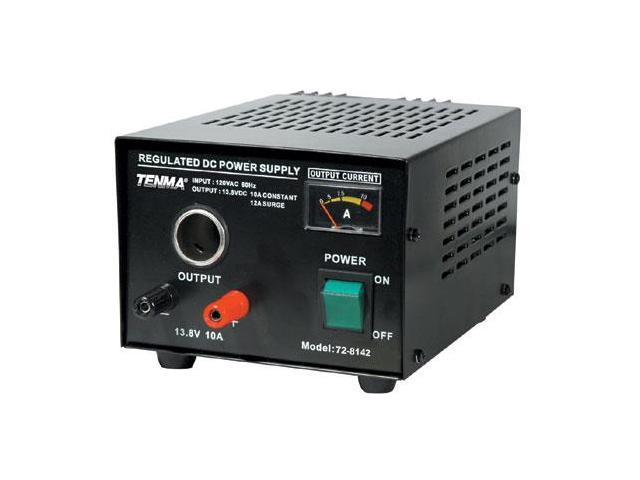 Regulated 13.8VDC Power Supply - 10A Continuous