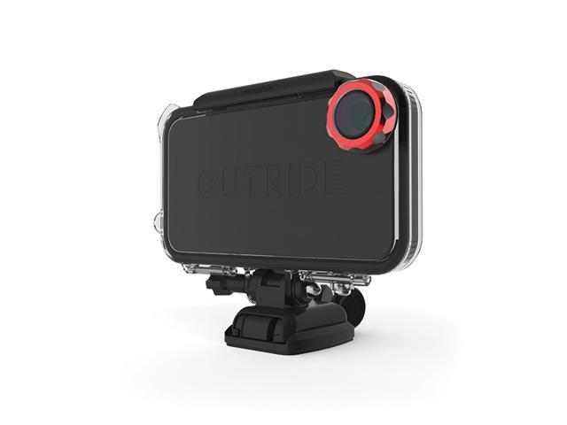 Mophie OutRide MultiSport Kit - Wide Angle Camera Housing and Mounting System for iPhone 4/4S