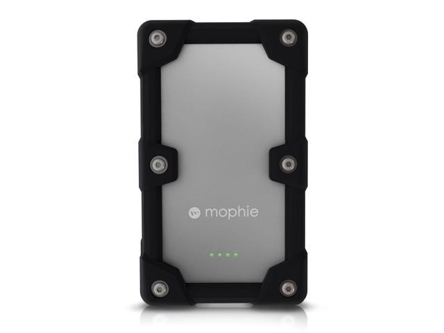Mophie Juice Pack Powerstation Pro - Ruggedized Quick Charge External Battery(6000 mAh) for iPhone, iPod, iPad, & most USB devices