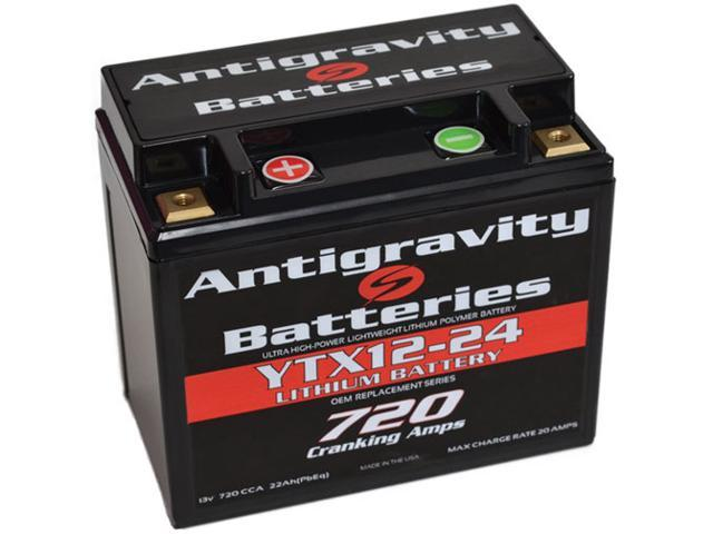 Antigravity Batteries 92-AG-YTX12-24 OEM Case 24-Cell 13V 25ah 720 cca Maintenance Free Battery - 3 Year Manufacturer Warranty!