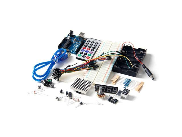 UNO R3 Upgrade Kit with Motor LCD Servo Module for Arduino AVR Starter Beginner