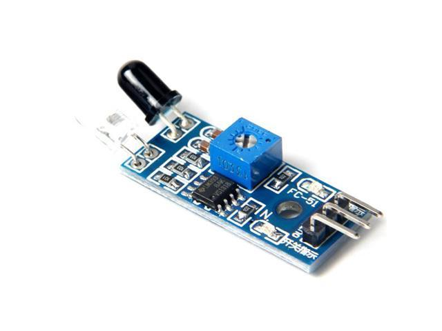 Obstacle Avoidance Sensor Module Infrared Module Reflection Photoelectric Sensor